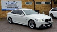2014 BMW 5 SERIES 2.0 520D M SPORT 4d AUTO 188 BHP £14484.00