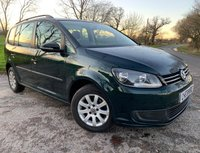 USED 2011 11 VOLKSWAGEN TOURAN 1.6 S TDI 5d + 1 FORMER KEEPER + HISTORY + ALLOYS
