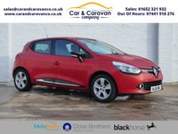 USED 2016 16 RENAULT CLIO 1.1 DYNAMIQUE NAV 16V 5d 73 BHP One Owner Full Renault History Buy Now, Pay Later Finance!