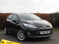 USED 2011 11 FORD FIESTA 1.4 TITANIUM 5d * AUXILIARY PHONE CONNECTION * 12 MONTHS MOT *