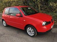 2005 SEAT AROSA 1.4 S 3d 60 BHP £1695.00