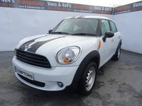 2010 MINI COUNTRYMAN 1.6 ONE 5d 98 BHP £6995.00