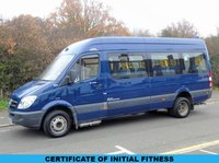 2007 MERCEDES-BENZ SPRINTER 511CDI 2.1 109 BHP 16 SEATER DISABLED PASSENGER LWB MINI BUS £8995.00