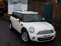 USED 2014 14 MINI CLUBMAN 1.6 COOPER D 5d 112 BHP One Former Owner FULL Service History