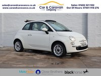 USED 2012 62 FIAT 500 1.2 C LOUNGE 3d 69 BHP Service History Bluetooth A/C Buy Now, Pay Later Finance!