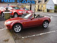 USED 2007 07 MAZDA MX-5 1.8 I 2d 125 BHP ONLY 71000 MILES FROM NEW