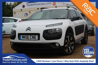 2016 CITROEN C4 CACTUS 1.6 BLUEHDI FLAIR 5d 98 BHP £9750.00