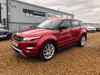 USED 2012 61 LAND ROVER RANGE ROVER EVOQUE 2.2 SD4 DYNAMIC 5d 190 BHP
