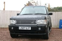 2007 LAND ROVER RANGE ROVER 4.2 V8 SUPERCHARGED 5d AUTO 391 BHP £SOLD
