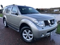 USED 2009 09 NISSAN PATHFINDER AVENTURA AUTOMATIC ***FULL HEATED LEATHER***
