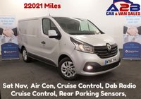 USED 2016 66 RENAULT TRAFIC 1.6 DCi SL27 SPORT NAV 120 BHP Low Mileage 22021, One Owner From New, Air Con, Sat Nav, Cruise Control, DAB, Ply Lined and much more *Over The Phone Low Rate Finance Available*   *UK Delivery Can Also Be Arranged*           ___       Call us on 01709 866668
