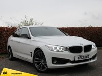 USED 2013 13 BMW 3 SERIES 2.0 320I SPORT GRAN TURISMO 5d * FULL BMW SERVICE HISTORY * LOW MILEAGE * AA INSPECTED *