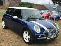 USED 2004 04 MINI HATCH COOPER 1.6 COOPER 3DR LOTS OF EXTRAS