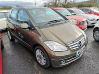 2010 MERCEDES-BENZ A CLASS 1.5 A160 BLUEEFFICIENCY ELEGANCE SE 5d 95 BHP £4995.00