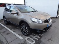 USED 2012 12 NISSAN QASHQAI 1.6 N-TEC PLUS IS 5d 117 BHP CLIMATE CONTROL CRUISE CONTROL BLUETOOTH SAT NAV PRIVACY GLASS ALLOYS MULTIMEDIA