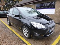 USED 2012 12 FORD C-MAX 1.6 ZETEC TDCI 5d 114 BHP # £0 DEPOSIT FINANCE AVAILABLE # £30 ROAD TAX # 2 KEEPERS FROM NEW # DAB RADIO #