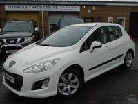 2011 PEUGEOT 308 1.6 E-HDI SR 5d AUTO 112 BHP £3250.00