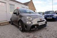 """USED 2017 67 ABARTH 595 T-Jet 1.4 3dr ( 145 bhp ) One Owner From New Stunning Example Upgraded 17"""" Titanium Alloys + Competizione Bucket Seats Super Spec"""