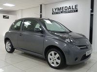 2006 NISSAN MICRA 1.4 ACTIV LIMITED EDITION 3d 88 BHP £2190.00