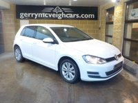 USED 2013 63 VOLKSWAGEN GOLF 1.6 SE TDI BLUEMOTION TECHNOLOGY DSG 5d AUTO 103 BHP