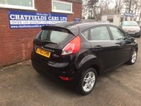 USED 2013 62 FORD FIESTA 1.5 ZETEC TDCI 5d 74 BHP 2013 ONLY 58K MILES, £0 ROAD TAX