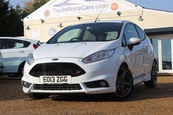 2013 FORD FIESTA 1.6 ST-2 3d 180 BHP £7750.00