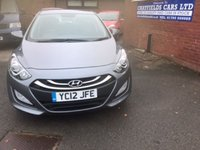 USED 2012 12 HYUNDAI I30 1.4 ACTIVE 5d 98 BHP ONLY 38K MILES, FULL HISTORY