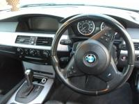 USED 2007 56 BMW 5 SERIES 3.0 530D M SPORT 4d AUTO 228 BHP M SPORT SATNAV=LEATHER=HIGH SPEC VERY REAR MODEL FULLY SERVICE AND NEW BATTERY FITTED