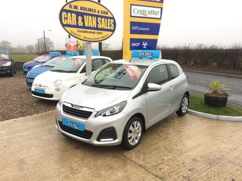 2015 PEUGEOT 108 ACTIVE 1.0 3 DOOR **ONE LADY OWNER**ONLY 9000 MILES** £SOLD
