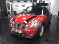2011 MINI HATCH COOPER 1.6 COOPER D 3d 112 BHP £4990.00