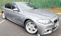 2015 BMW 5 SERIES 2.0 520D M SPORT 4d AUTO 188 BHP £16000.00