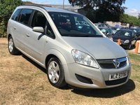 USED 2008 VAUXHALL ZAFIRA 1.6 EXCLUSIV 5DR