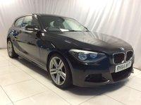 2014 BMW 1 SERIES 2.0 118D M SPORT 3d 141 BHP £11000.00