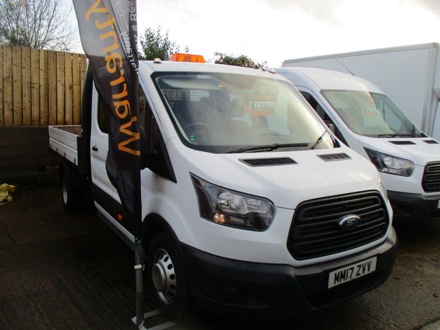 2017 17 FORD TRANSIT 2.0 350 2.0 TDCI DOUBLE CAB TIPPER130 BHP