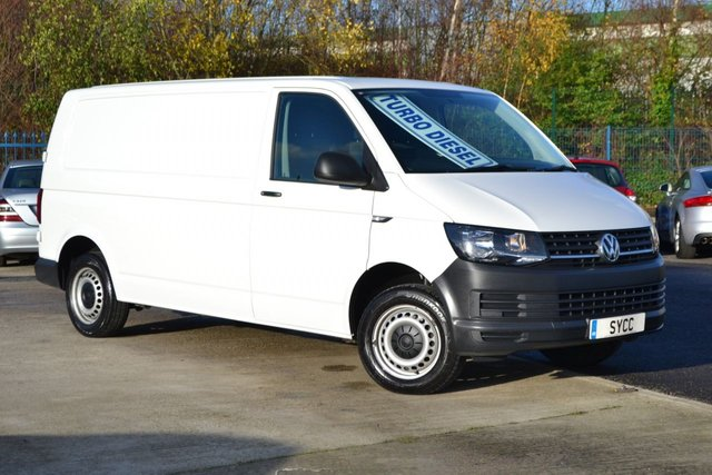 USED 2016 66 VOLKSWAGEN TRANSPORTER 2.0 T30 TDI P/V STARTLINE LWB  TECH PACK BMT 5d 101 BHP 1 OWNER ~ 3 KEYS ~ TECH PACK ~ BLUETOOTH ~ 6 MONTHS WARRANTY & BREAKDOWN COVER