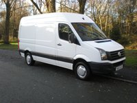 USED 2014 14 VOLKSWAGEN CRAFTER 2.0 CR35 TDI H/R P/V 1d 135 BHP MWB