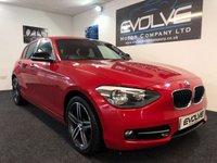 2013 BMW 1 SERIES 1.6 114D SPORT 5d 94 BHP £9499.00