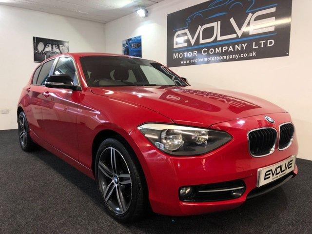 2013 63 BMW 1 SERIES 1.6 114D SPORT 5d 94 BHP