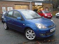 2008 FORD FIESTA 1.4 ZETEC BLUE 5d 80 BHP £1995.00