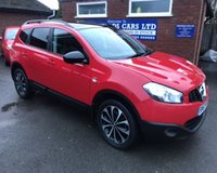 USED 2013 63 NISSAN QASHQAI+2 1.5 DCI 360 PLUS 2 5d 110 BHP FULL HSITORY, HALF LEATHER
