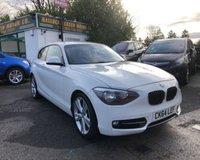 2014 BMW 1 SERIES 1.6 116I SPORT 3d 135 BHP £10999.00