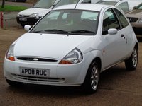 2008 FORD KA 1.3 ZETEC CLIMATE CLOTH 3d 69 BHP £1999.00