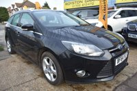 USED 2014 64 FORD FOCUS 1.6 ZETEC NAVIGATOR ECONETIC TDCI START/STOP 5d 104 BHP COMES WITH 6 MONTHS WARRANTY