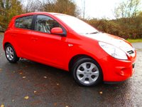USED 2012 61 HYUNDAI I20 1.2 COMFORT 5d 77 BHP **LOW TAX**LOW INSURANCE**LOVELY CONDITION**