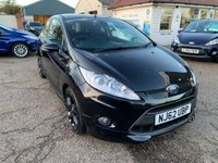 USED 2012 62 FORD FIESTA 1.6 ZETEC S 3d 118 BHP VOICE COMMS / USB / BLUETOOTH / PRIVACY GLASS