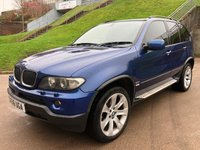 USED 2006 56 BMW X5 3.0 D SPORT EDITION 5d AUTO 215 BHP FULL SERVICE RECORD *  LEATHER TRIM *   BLUETOOTH *  MEMORY SEATS *  CRUISE CONTROL *  MOT  JULY 2019 *