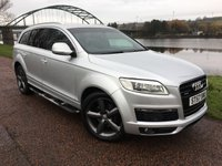 USED 2007 57 AUDI Q7 3.0 TDI QUATTRO S LINE 5d AUTO 240 BHP ** UNWANTED PART EXCHANGE ****SOLD AS SEEN**