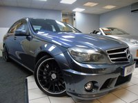 USED 2010 60 MERCEDES-BENZ C CLASS 6.2 C63 AMG 4d AUTO 451 BHP