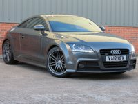 USED 2012 12 AUDI TT 2.0 TDI QUATTRO BLACK EDITION 2d 168 BHP OVER £4000 WORTH OF FACTORY FITTED OPTIONS