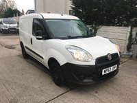USED 2012 62 FIAT DOBLO 1.2 16V MULTIJET SWB 1d 90 BHP + BLUETOOTH + LOW INSURANCE GROUP + LOW TAX + NO VAT